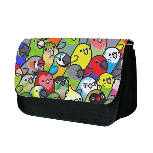 Everybirdy Pattern Pencil Case - Fun Cases