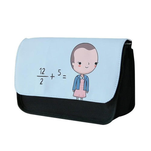 Eleven - Funny Stranger Things Pun Pencil Case - Fun Cases