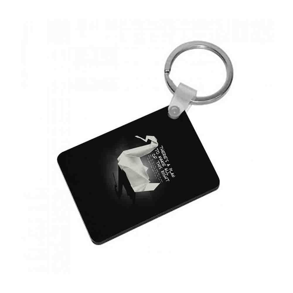 Prison Break Oragami Swan Keyring - Fun Cases