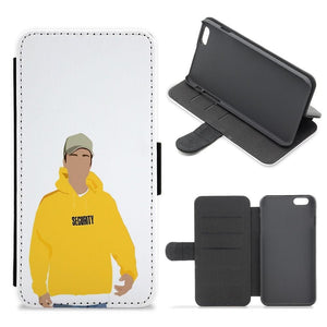 Justin Bieber - Security Cartoon Flip / Wallet Phone Case - Fun Cases