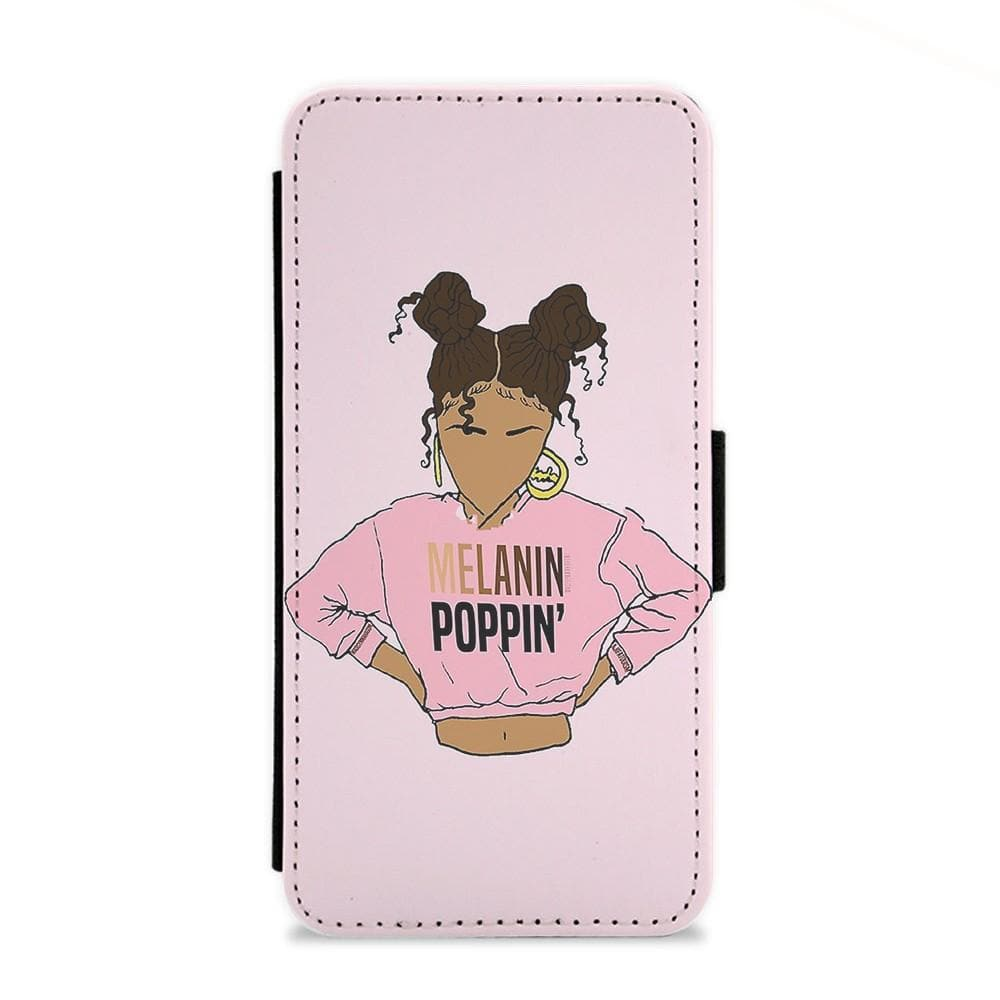 2Bunz Melanin Poppin' Flip Wallet Phone Case - Fun Cases