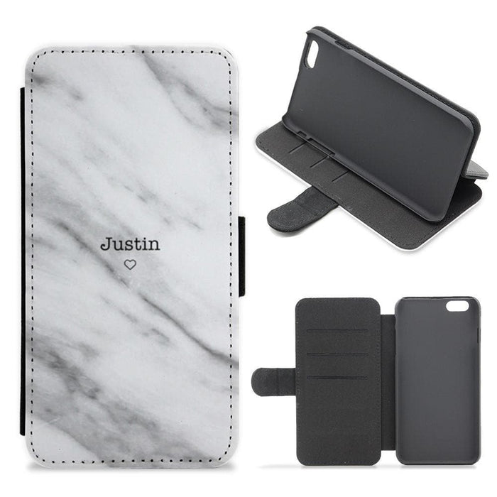 Justin Marble - Justin Bieber Flip / Wallet Phone Case - Fun Cases
