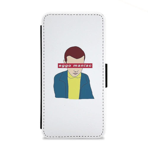Eggo Maniac - Stranger Things Flip Wallet Phone Case - Fun Cases