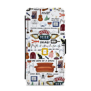Friends Collage Flip / Wallet Phone Case - Fun Cases