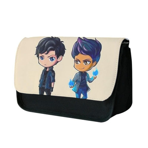 Malec Cartoons - Shadowhunters Pencil Case - Fun Cases