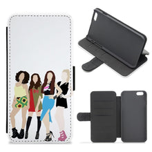 Little Mix Cartoon Flip / Wallet Phone Case - Fun Cases