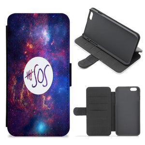 5 Seconds of Summer - Galaxy Flip / Wallet Phone Case - Fun Cases