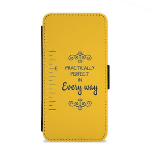 Practically Perfect - Mary Poppins Flip Wallet Phone Case - Fun Cases