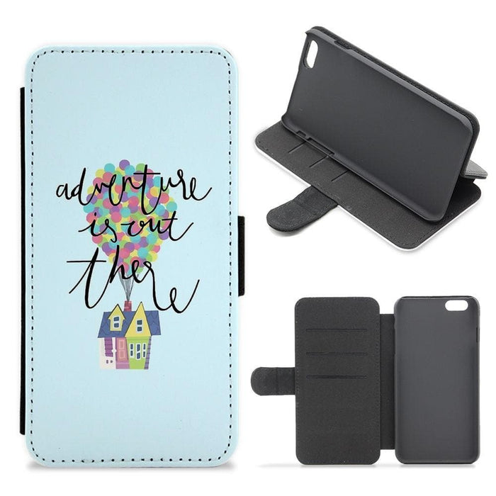 Adventure Is Out There - Disney Flip / Wallet Phone Case - Fun Cases