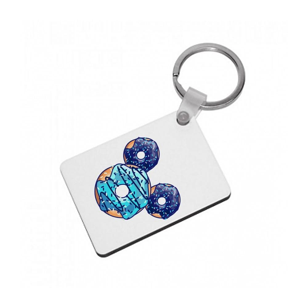 Mickey Mouse Doughnuts Keyring - Fun Cases