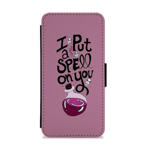 I Put A Spell On You - Hocus Pocus Flip / Wallet Phone Case - Fun Cases