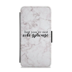 But You're Not Cole Sprouse - Marble Flip / Wallet Phone Case - Fun Cases