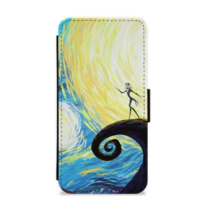 Nightmare Before Christmas Flip / Wallet Phone Case - Fun Cases