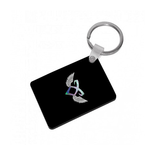 Shadowhunters Galaxy Rune Logo Keyring - Fun Cases