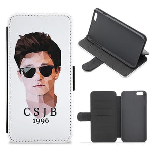 Connor Ball Cartoon - The Vamps Flip / Wallet Phone Case - Fun Cases