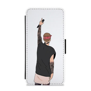 Justin Bieber Back Concert Cartoon Flip / Wallet Phone Case - Fun Cases