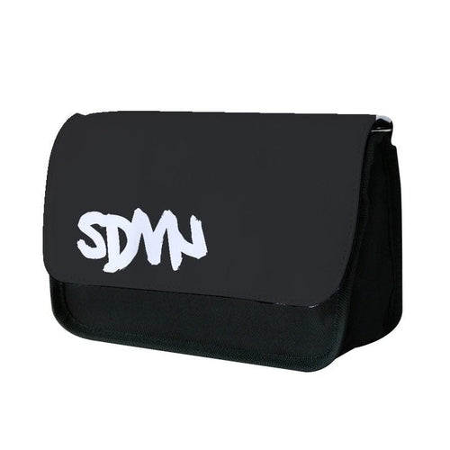 Sidemen - Black SDMN Pencil Case - Fun Cases