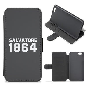 Salvatore 1864 - Vampire Diaries Flip / Wallet Phone Case - Fun Cases