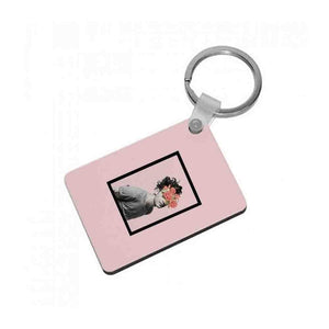 Matt - The 1975 Flower Cencored Keyring - Fun Cases