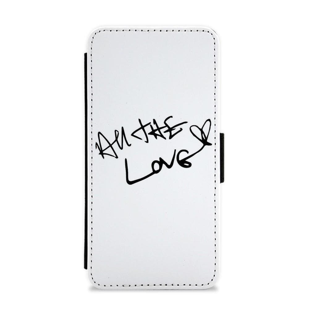 All The Love - Harry Styles Flip / Wallet Phone Case - Fun Cases