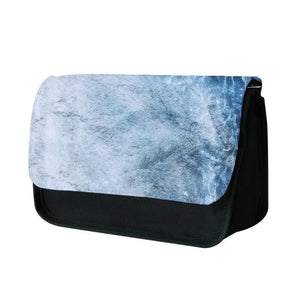 Sea Blue Marble Pencil Case - Fun Cases