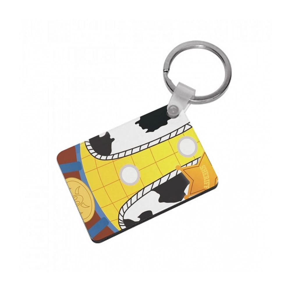 Woody Costume - Toy Story Keyring - Fun Cases