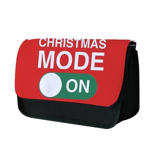 Christmas Mode On Pencil Case