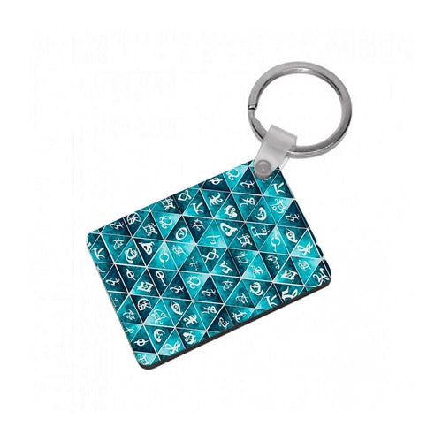 Shadowhunters Runes Mosaic Keyring - Fun Cases