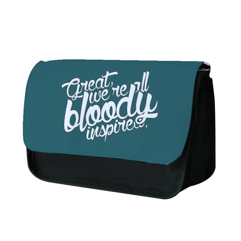 Great, We're All Bloody Inspired - Maze Runner Pencil Case - Fun Cases