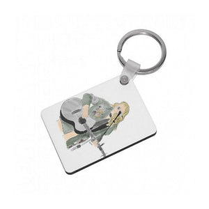 Taylor Swift Sketch Keyring