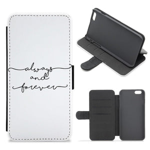 Always & Forever - Vampire Diaries Flip / Wallet Phone Case - Fun Cases