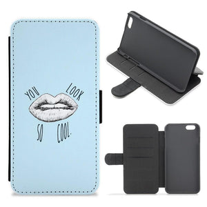 You Look So Cool - The 1975 Flip / Wallet Phone Case - Fun Cases