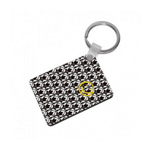 Sherlock Wallpaper Smile Keyring - Fun Cases