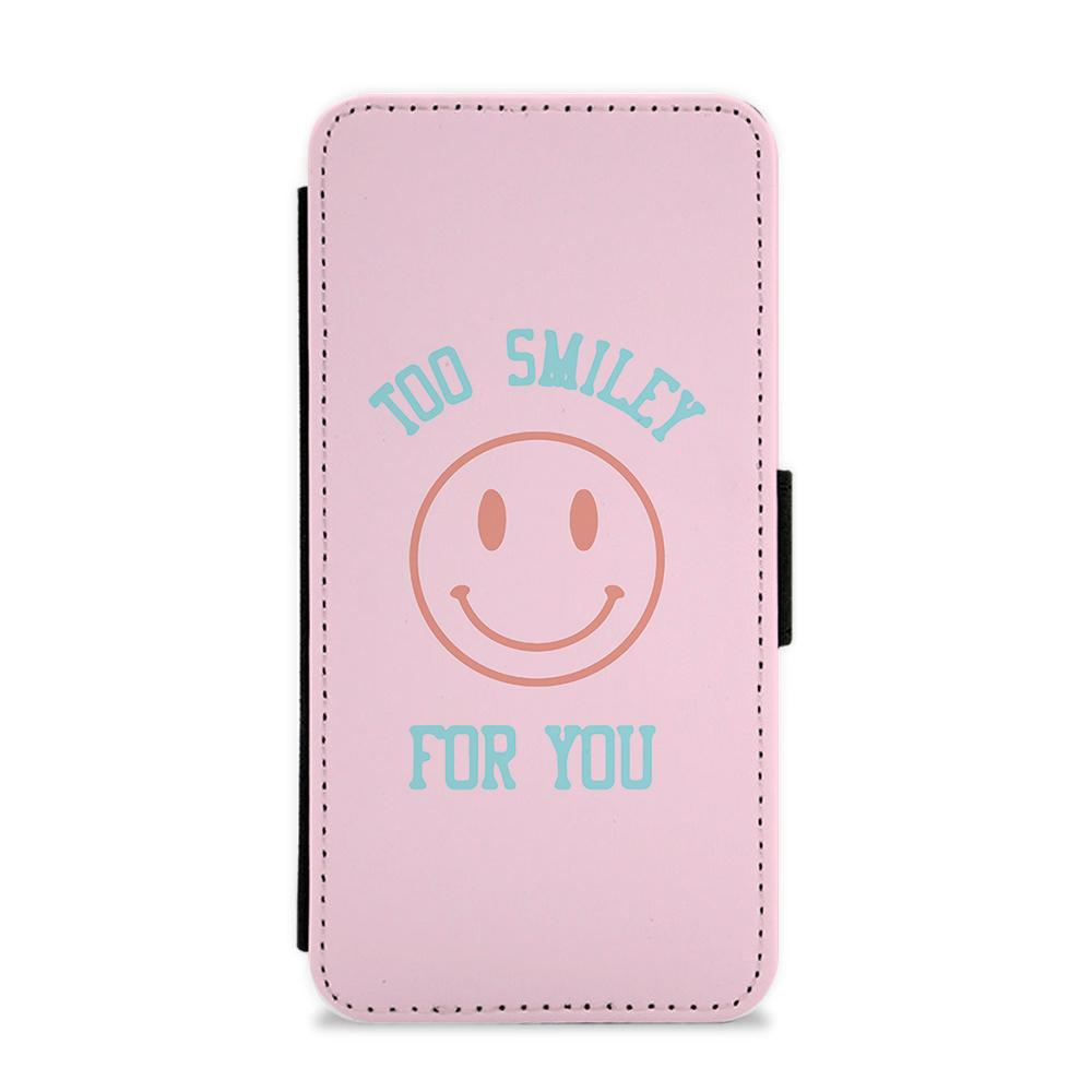 Too Smiley For You - Addison Rae Flip / Wallet Phone Case