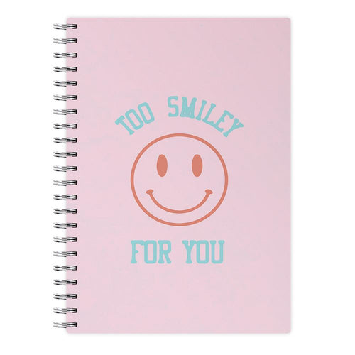 Too Smiley For You - Addison Rae Notebook