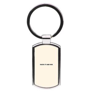 Suck It and See - Arctic Monkeys Luxury Keyring