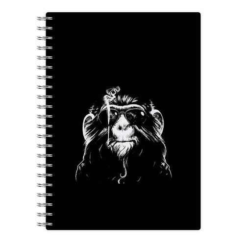 Smoking Monkey - Arctic Monkeys Notebook - Fun Cases
