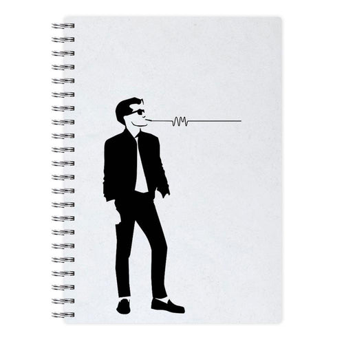 Artctic Monkeys Silhouette Notebook - Fun Cases