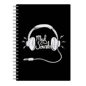 Mad Sounds - Arctic Monkeys Notebook - Fun Cases