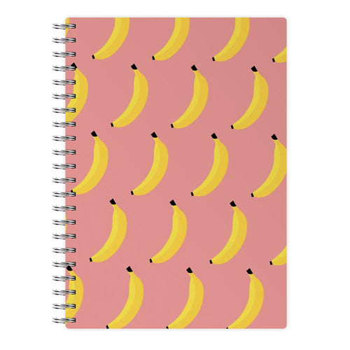 Banana Pattern Notebook - Fun Cases