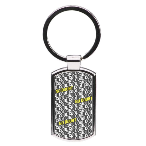 Cool Cool Cool No Doubt Pattern - Brooklyn Nine-Nine Luxury Keyring