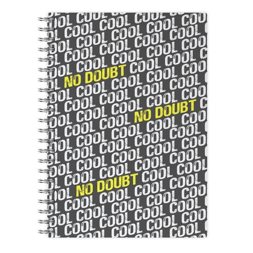 Cool Cool Cool No Doubt Pattern - Brooklyn Nine-Nine Notebook