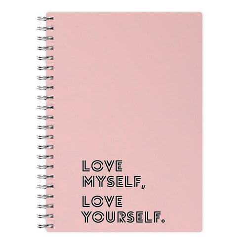Love Myself, Love Yourself BTS Notebook