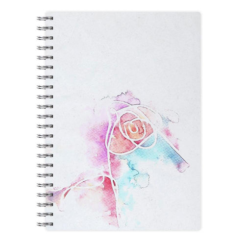 BTS Love Yourself Watercolour Painting Notebook