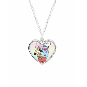 Pastel BT21 - BTS Necklace