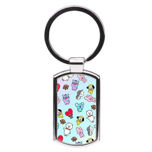 BT21 Collage - BTS Luxury Keyring