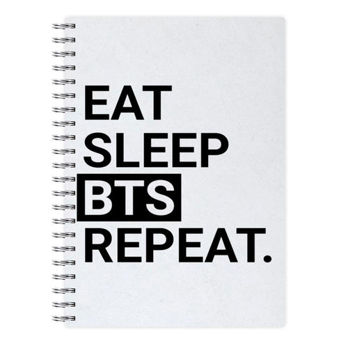 Eat, Sleep, BTS, Repeat Notebook