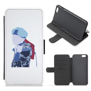 BTS Mic Drop Flip / Wallet Phone Case
