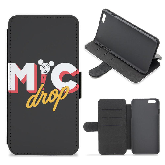 Mic Drop - BTS Flip / Wallet Phone Case