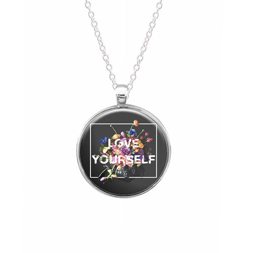 Floral Love Yourself - BTS Necklace